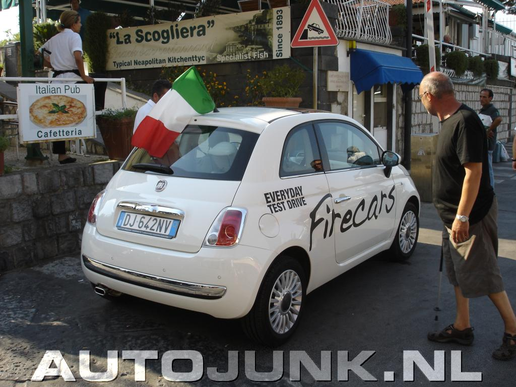 fiat 500 in sorrento itali foto 39 s 2803. Black Bedroom Furniture Sets. Home Design Ideas