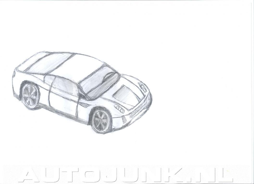 Cheeta auto schets foto 39 s 2858 for Schets programma