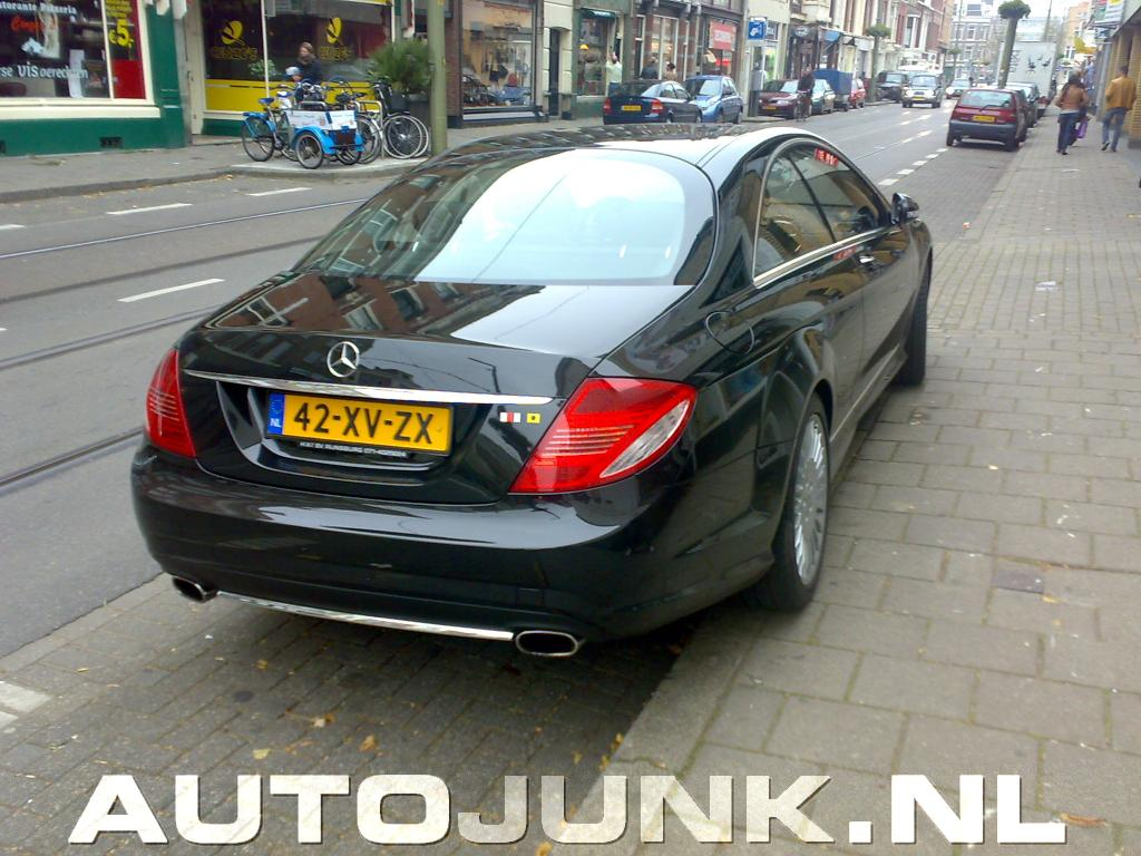 Mercedes Cl 500 In Den Haag Foto S Autojunk Nl 3454