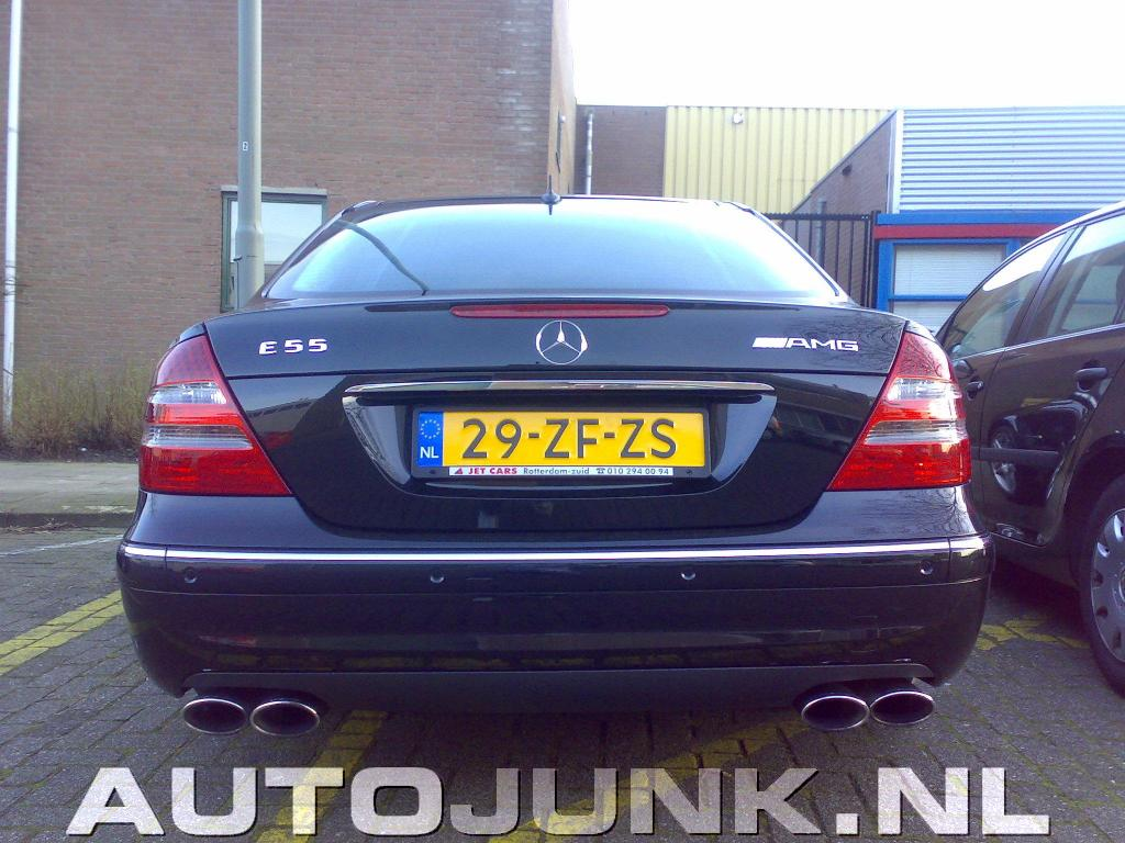 Mercedes e55 amg 476pk 39 s foto 39 s 5388 for Jet cars rotterdam opgelicht