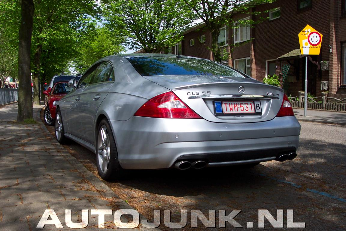 Mercedes benz cls55 amg foto 39 s 8511 for Mercedes benz cls55