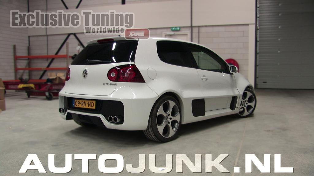 volkswagen golf 5 gti w12 650 concept body kit foto 39 s. Black Bedroom Furniture Sets. Home Design Ideas
