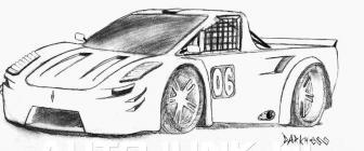race up tekening foto s 187 autojunk nl 24146