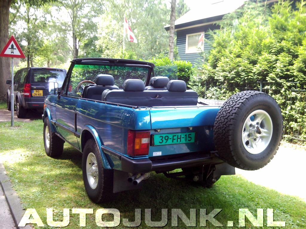 range rover cabrio foto 39 s 25506. Black Bedroom Furniture Sets. Home Design Ideas