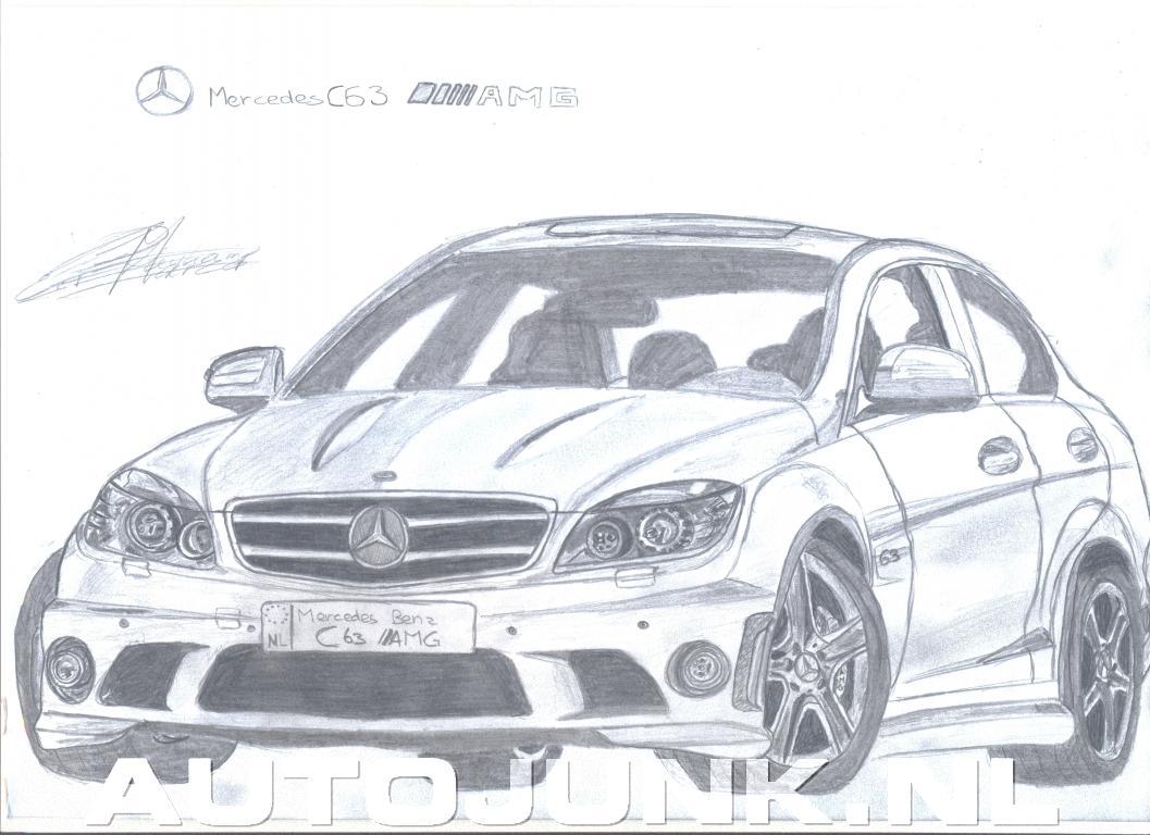 Mercedes Benz C63 Amg Foto S 187 Autojunk Nl 25682