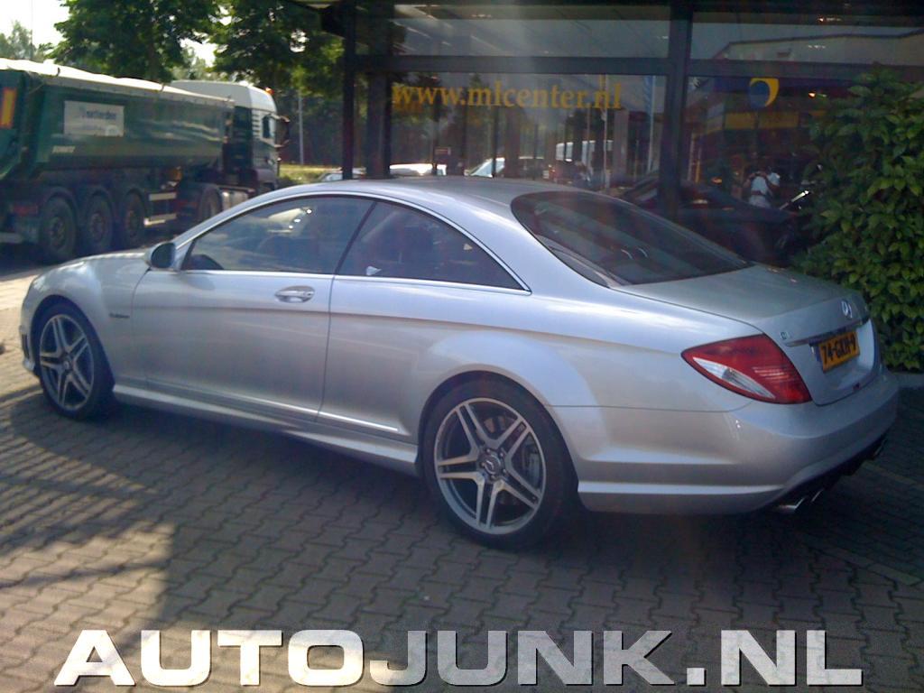Mercedes Benz Cl63 Amg Foto S 187 Autojunk Nl 26607