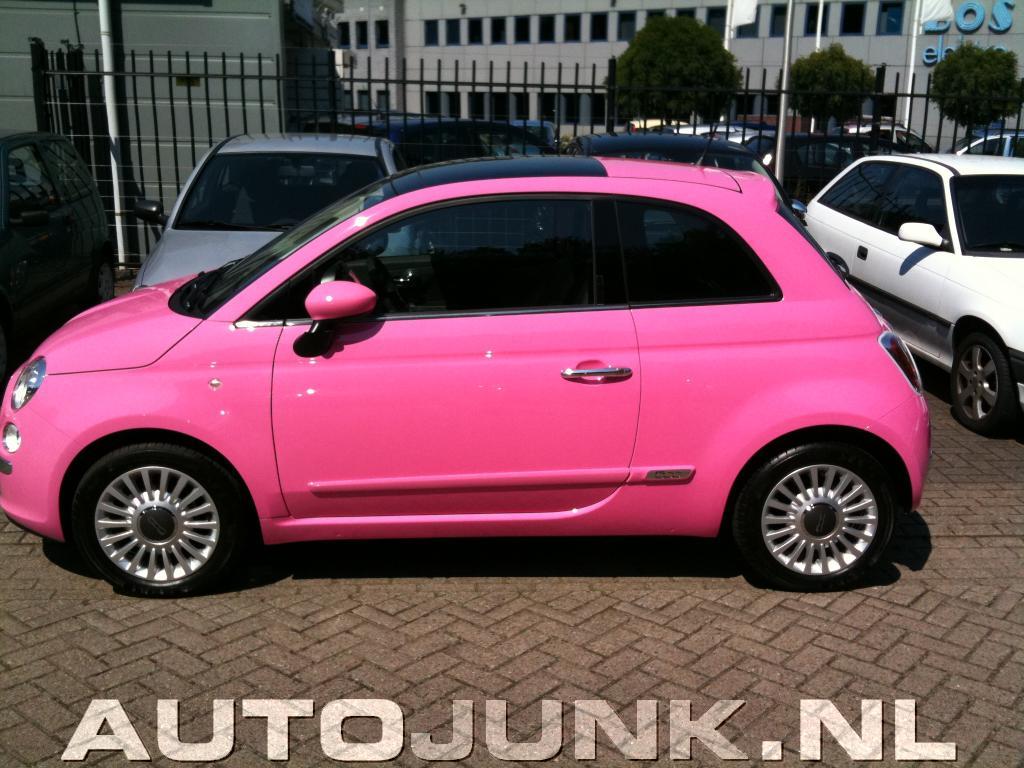 Fiat 500 Barbie + GTR met Mine's uilaat fotos » Autojunk.nl (27619 ...
