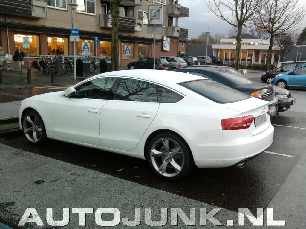De Nieuwe Audi A5 In T Wit Foto S 187 Autojunk Nl 31416