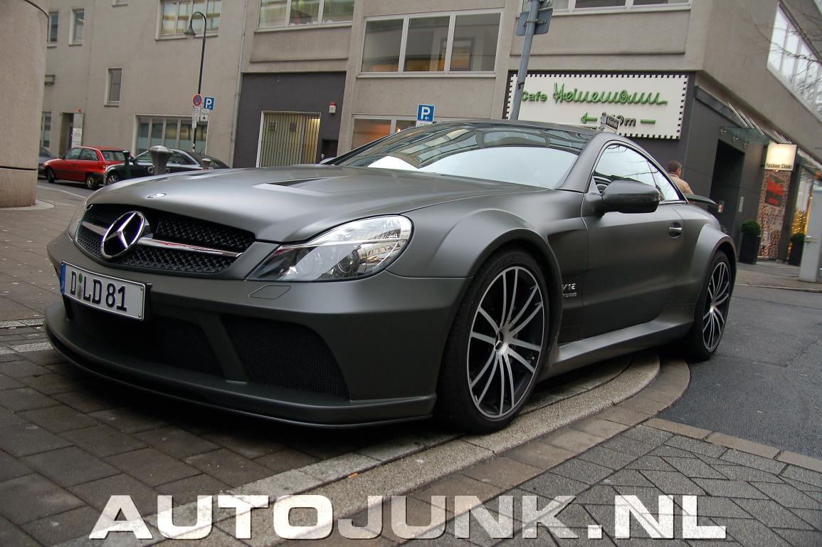 Mercedes Sl65 Amg Black Mat Foto S 187 Autojunk Nl 33188