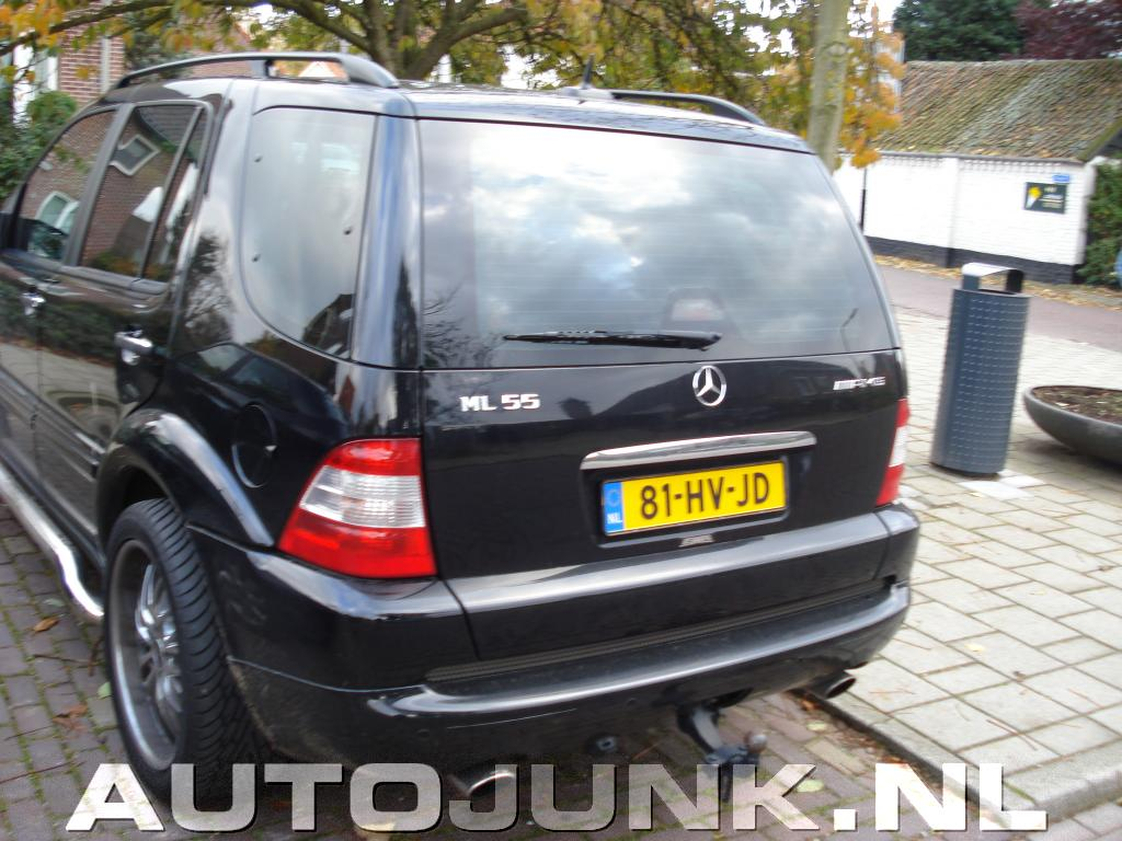 Mercedes benz ml 55 amg foto 39 s 36246 for Mercedes benz ml 55