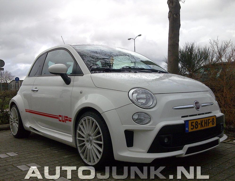 Fiat 500 CUP By MS Design Foto's » Autojunk.nl (37860