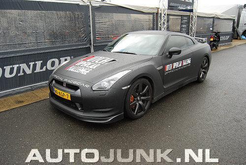 Pacecar Dutch Supercar Challenge Nissan Gtr Foto S Autojunk Nl