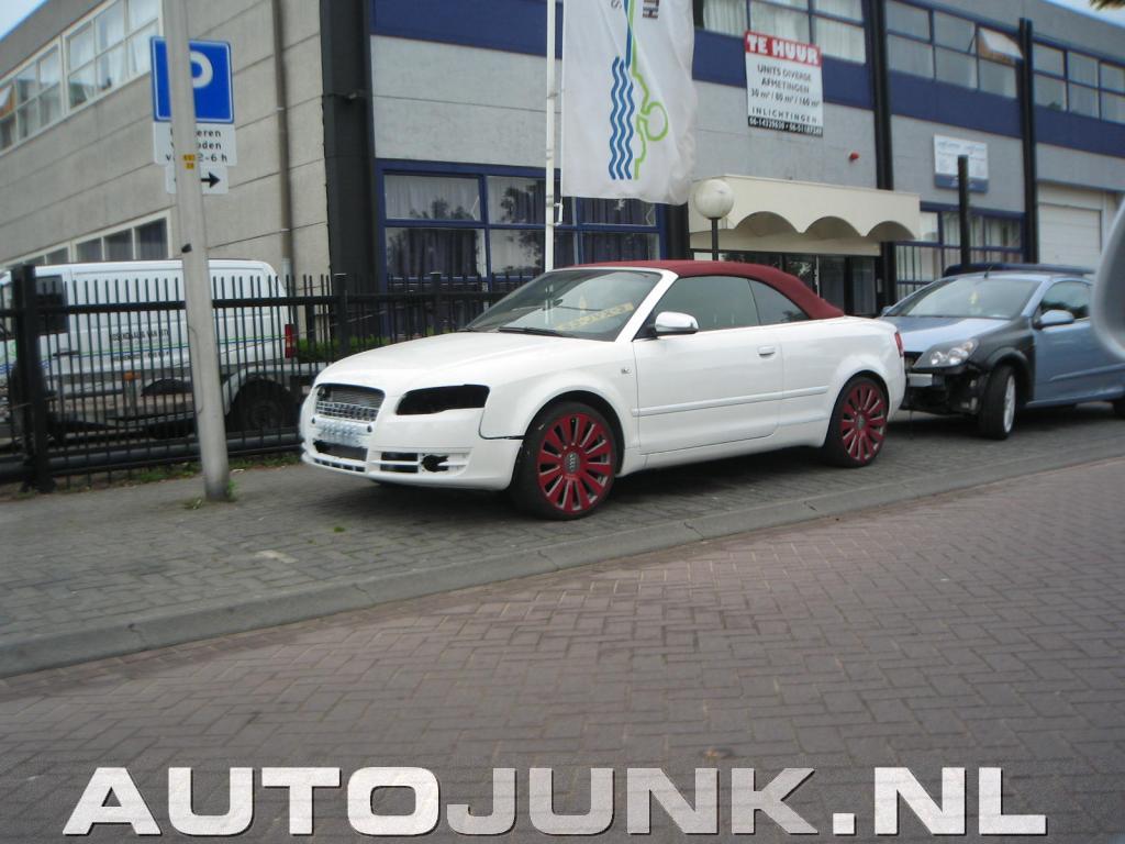 Aparte Smaak Voor Een Audi A4 Cabrio Foto S 187 Autojunk Nl