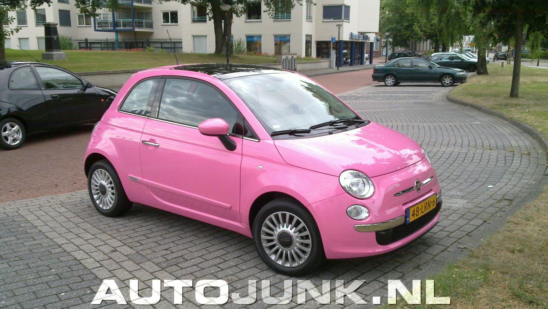 Favorit Fiat 500 rose foto's » Autojunk.nl (42876) CG15