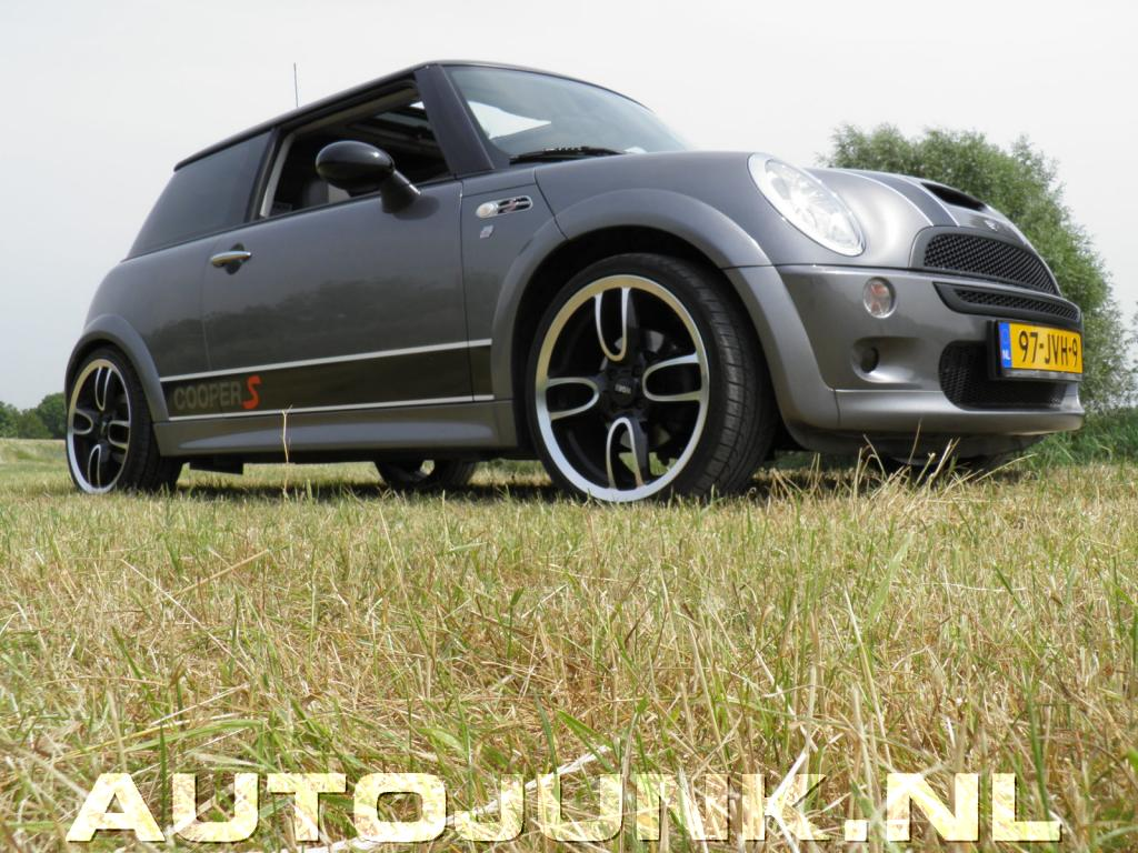 Mini Cooper S Met Gp Velgen Fotos Autojunknl 44479
