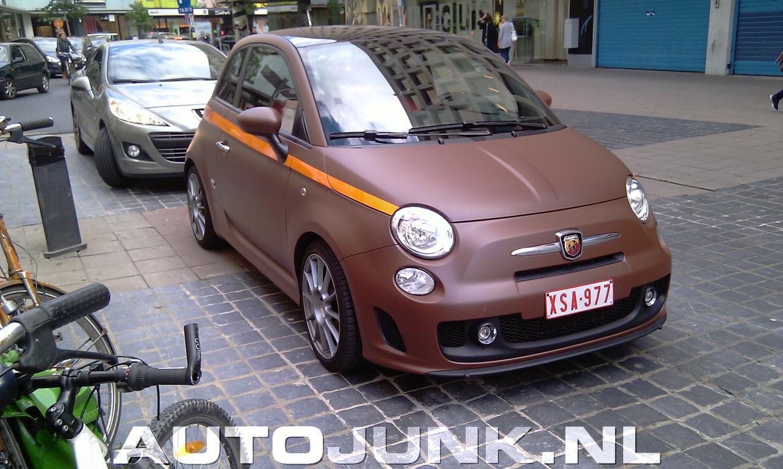 Mat Bruine Fiat 500 Abarth Esseesse Foto S 187 Autojunk Nl 44626