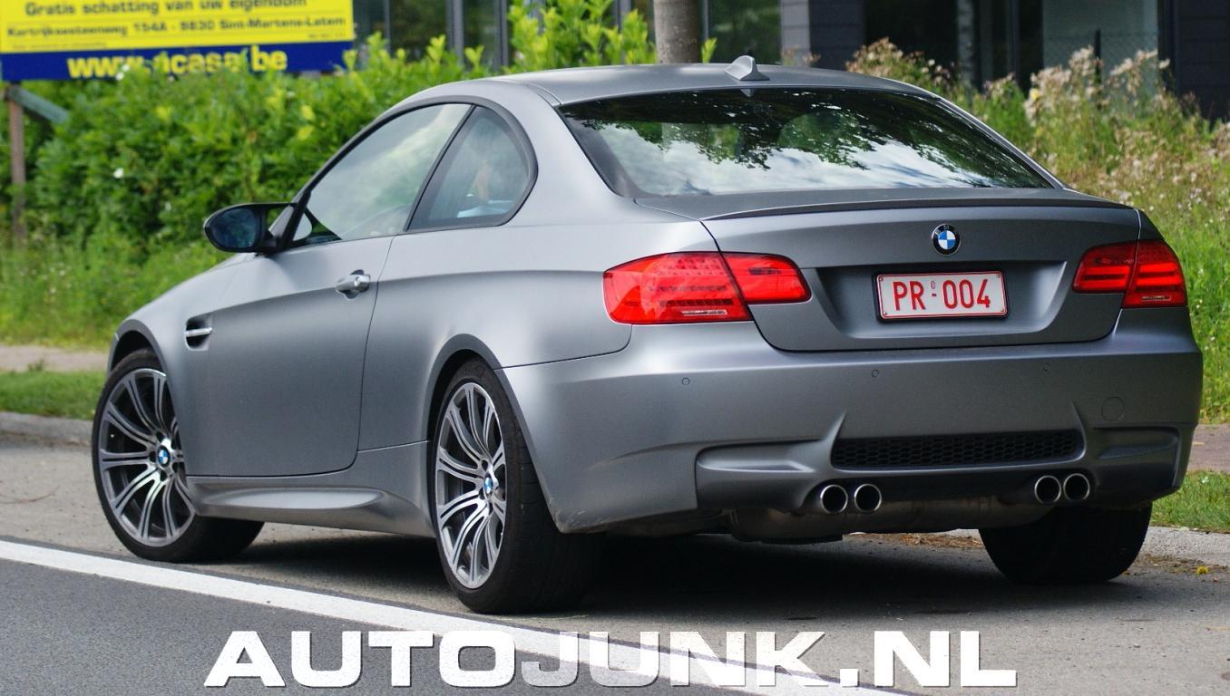 mat grijze BMW M3 E92 foto's » Autojunk.nl (45508)