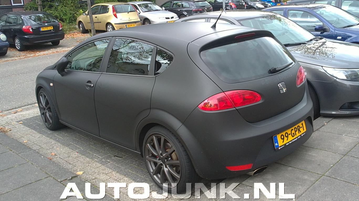 Seat Leon 1p Mat Zwart Laten Plakken Quot Inpakken Quot