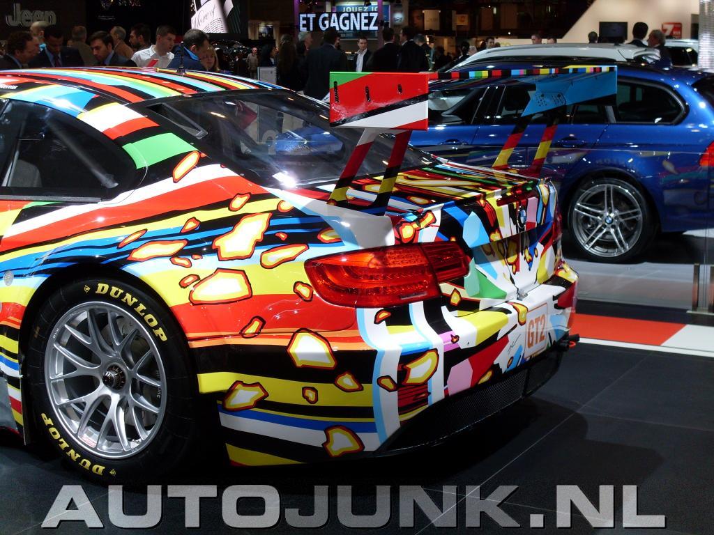 Image [ 30 of 49 ] - Art Cars Part of Bmw M3 Gt2 Art Car 3 - New HD ...