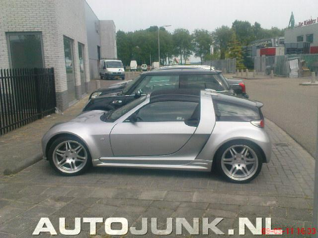 Smart roadster coupe brabus foto 39 s 56655 - Smart brabus roadster coupe ...