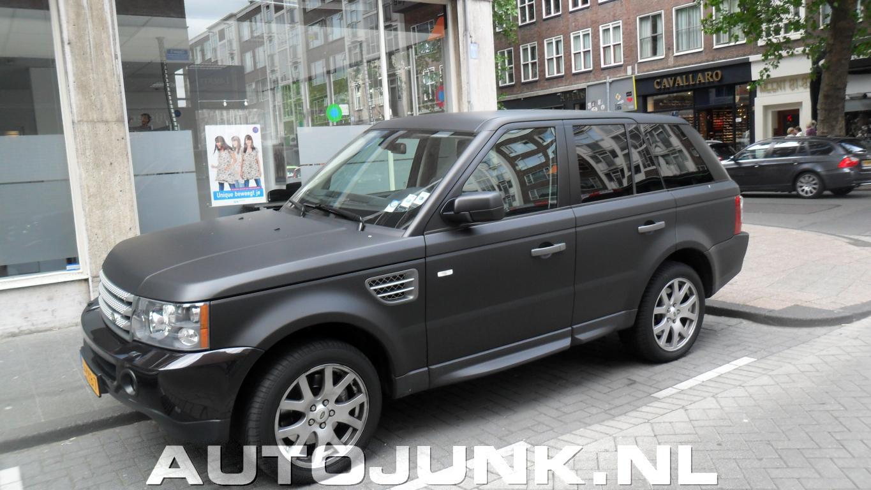 Goed bekend Matzwarte Range rover foto's » Autojunk.nl (57577) RE27