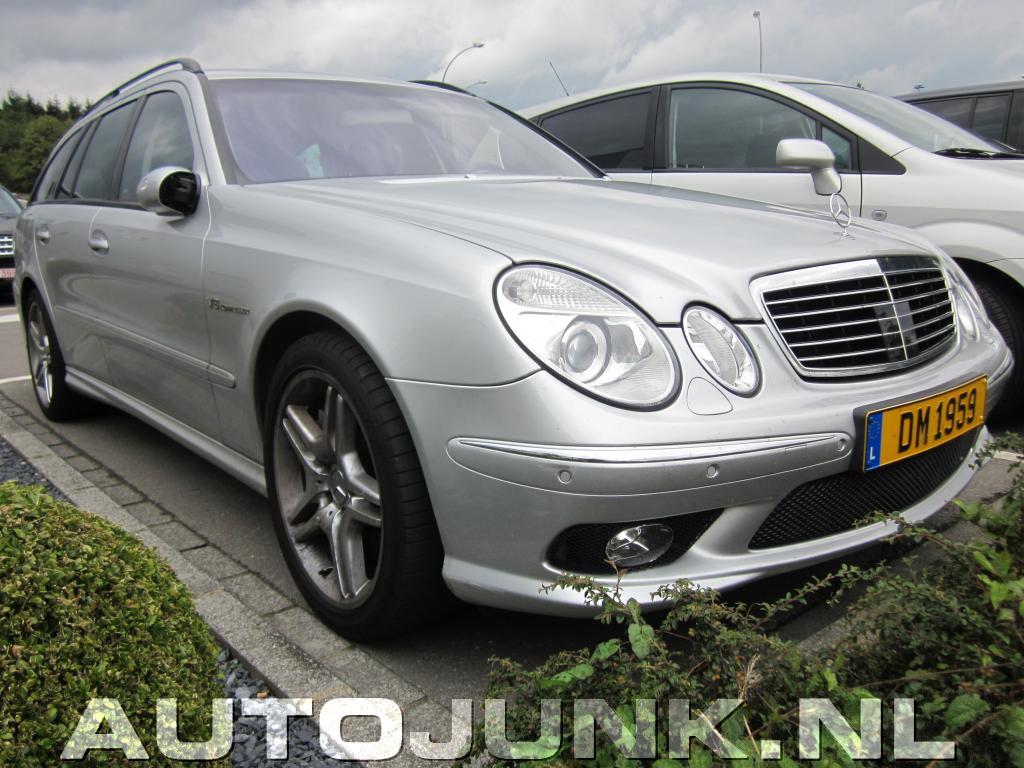 Mercedes benz e55 amg foto 39 s 60528 for Mercedes benz e 55 amg