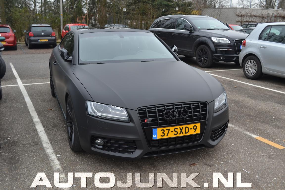 Audi S5 Mat Zwart Foto S 187 Autojunk Nl 70382