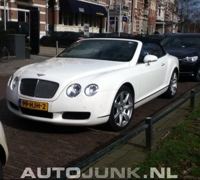 Bentley Gtc Convertible He He He: Bentley Continental Foto's » Autojunk.nl (71179
