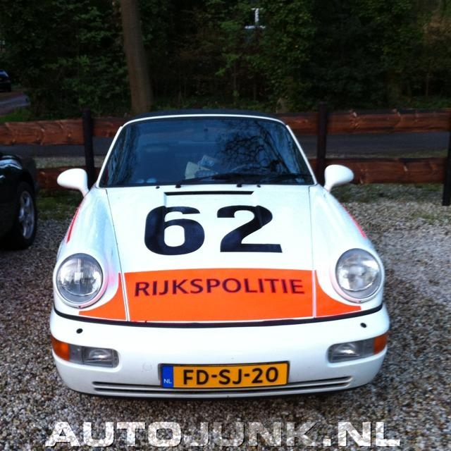 Porsche 911 Rijkspolitie Foto S 187 Autojunk Nl 74536