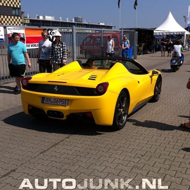 Ferrari 458 Italia Spyder Foto's » Autojunk.nl (75409