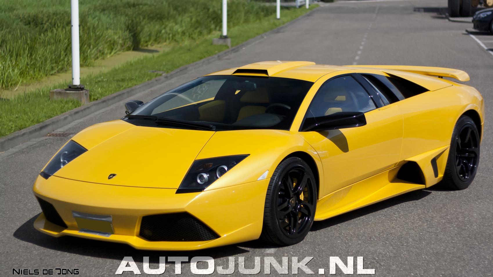 Lamborghini Murci 233 Lago Lp640 Yellow Hamann Foto S