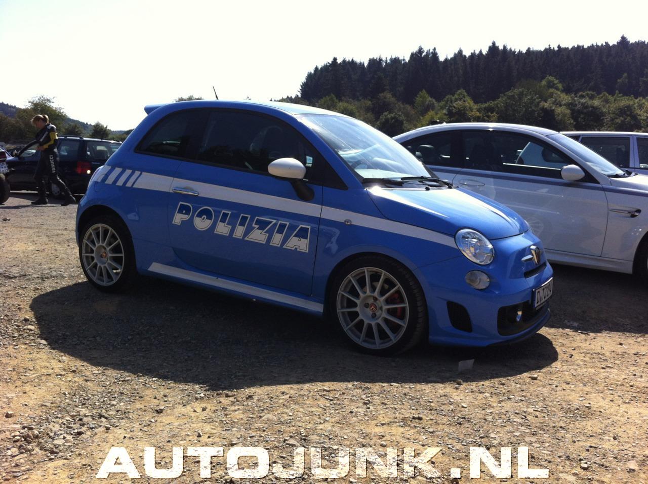 Fiat 500 Polizia Abarth Foto S Autojunk Nl 81063