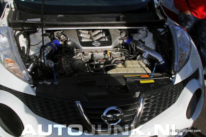 Nissan Juke R Met 800pk Gtr Motor Foto 39 S 81533