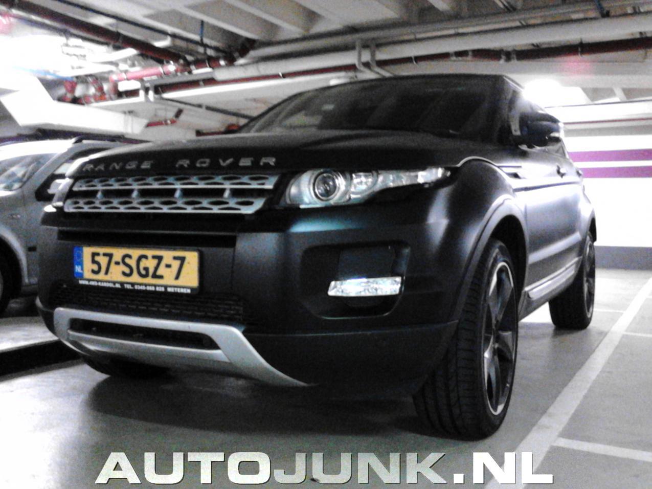 Beroemd Range Rover Evoque foto's » Autojunk.nl (81669) YQ33