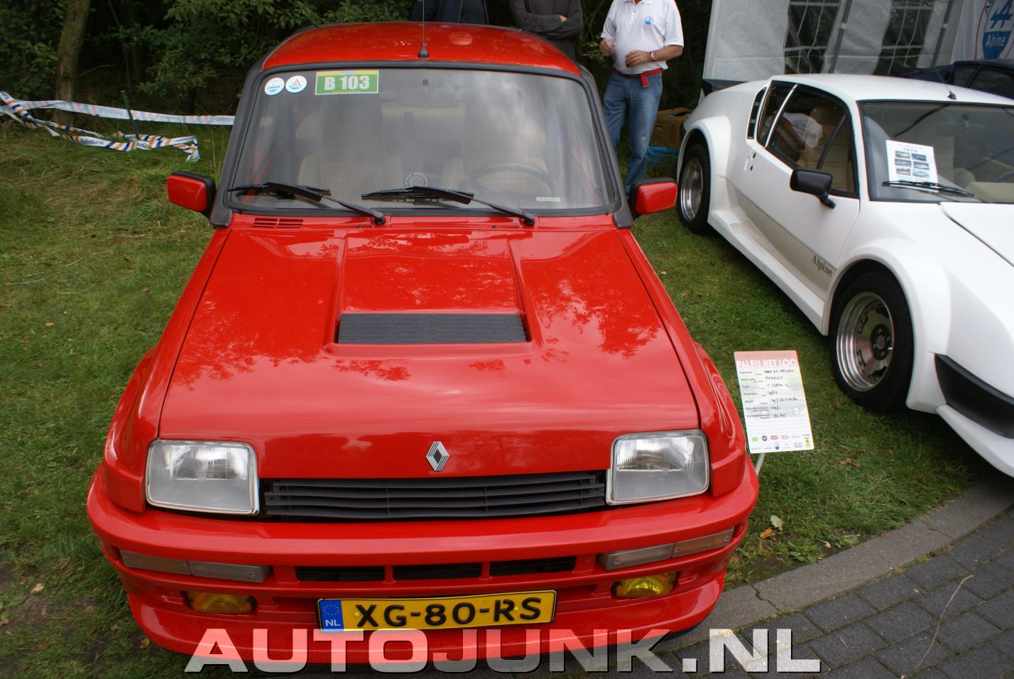renault 5 turbo alpine renault a310 v6 foto 39 s autojunk. Black Bedroom Furniture Sets. Home Design Ideas