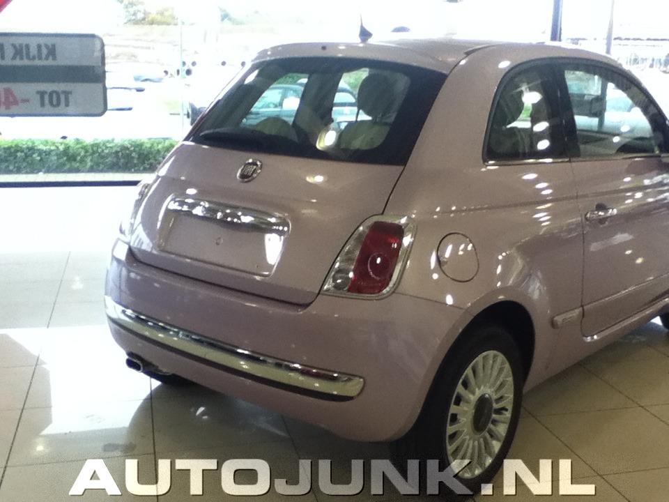 Fiat 500 Roze fotos » Autojunk.nl (83382)