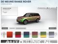 Foto: Nieuwe Range Rover in aparte kleuren