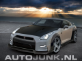Foto: Nissan GT-R Wide Body Black/white