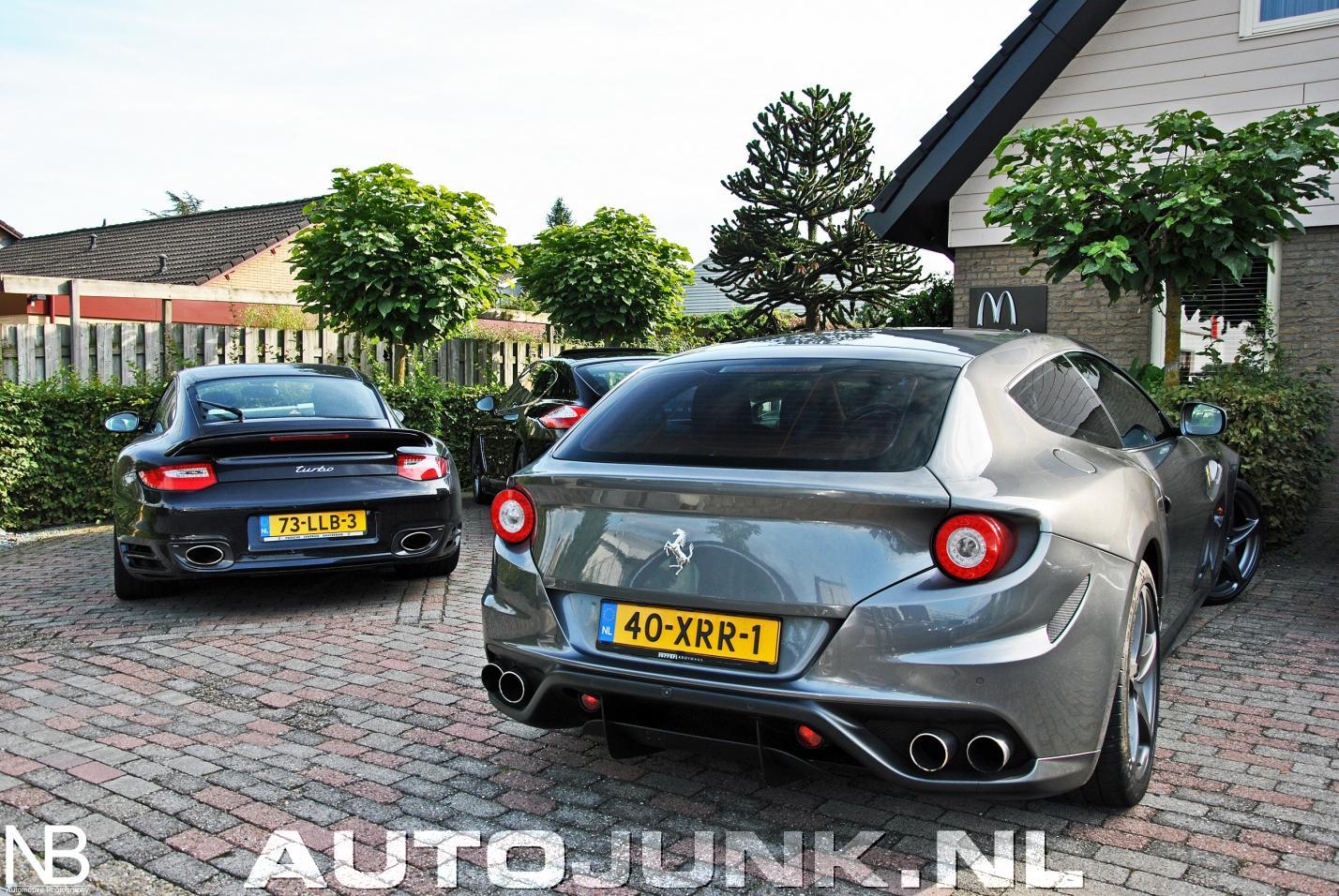Ferrari FF combo met Porsche en Bentley foto's » Autojunk ...