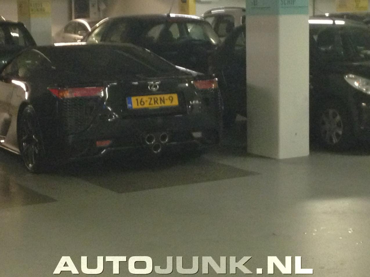 Lexus LFA in Rotterdam foto's » Autojunk.nl (86526)