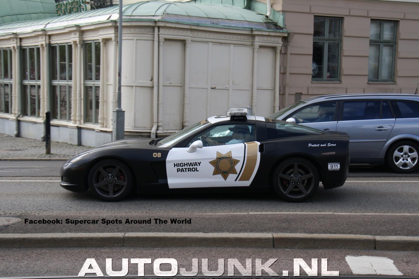 Zo Rolt De Zweedse Politie Foto S Autojunk Nl