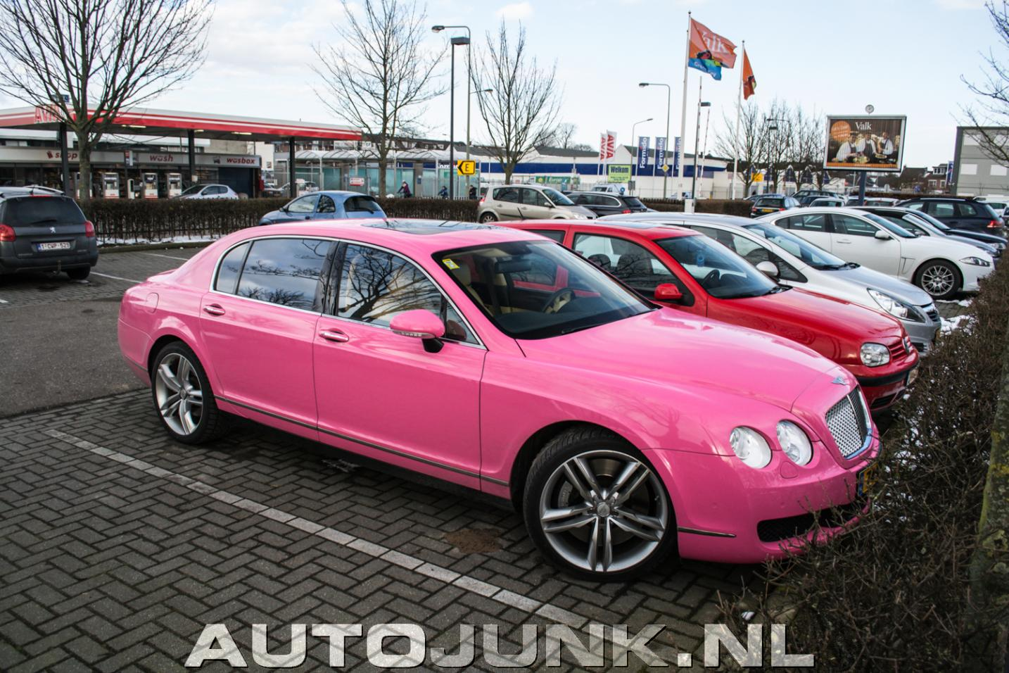 Bentley Continental Flying Spur Maastricht foto's ...
