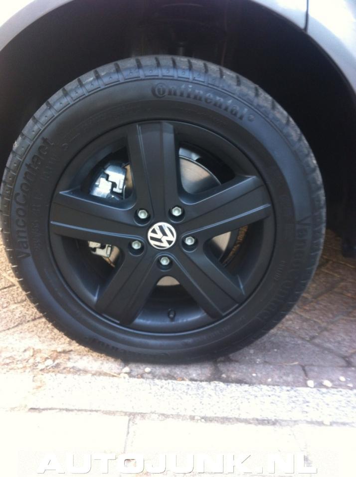 Volkswagen Transporter Mat Zwarte Velgen Fotos Autojunk