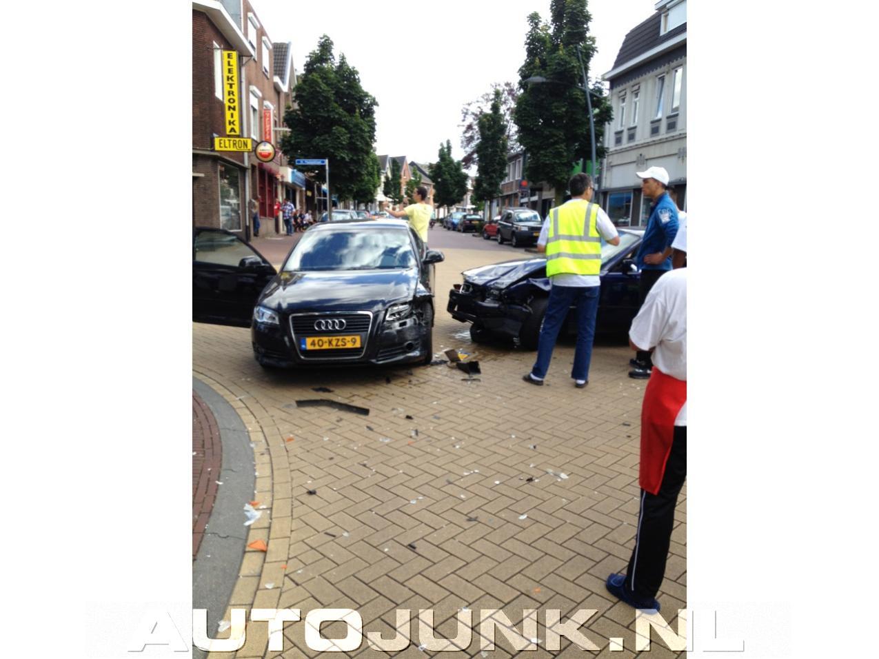 Audi A3 Ongeluk Prof Voetballer Foto S Autojunk Nl 96728