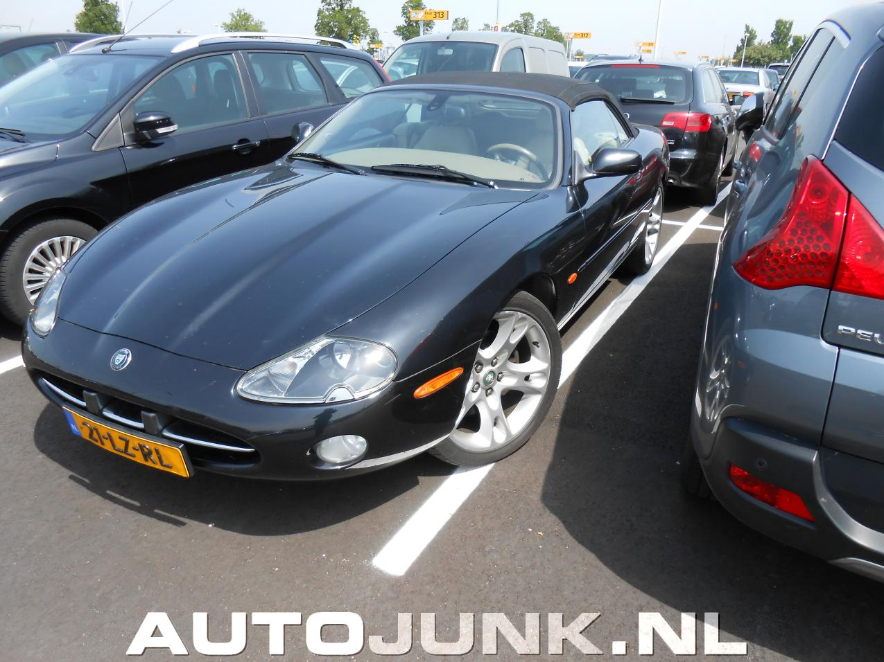 jaguar xk8 cabrio foto 39 s 98647. Black Bedroom Furniture Sets. Home Design Ideas