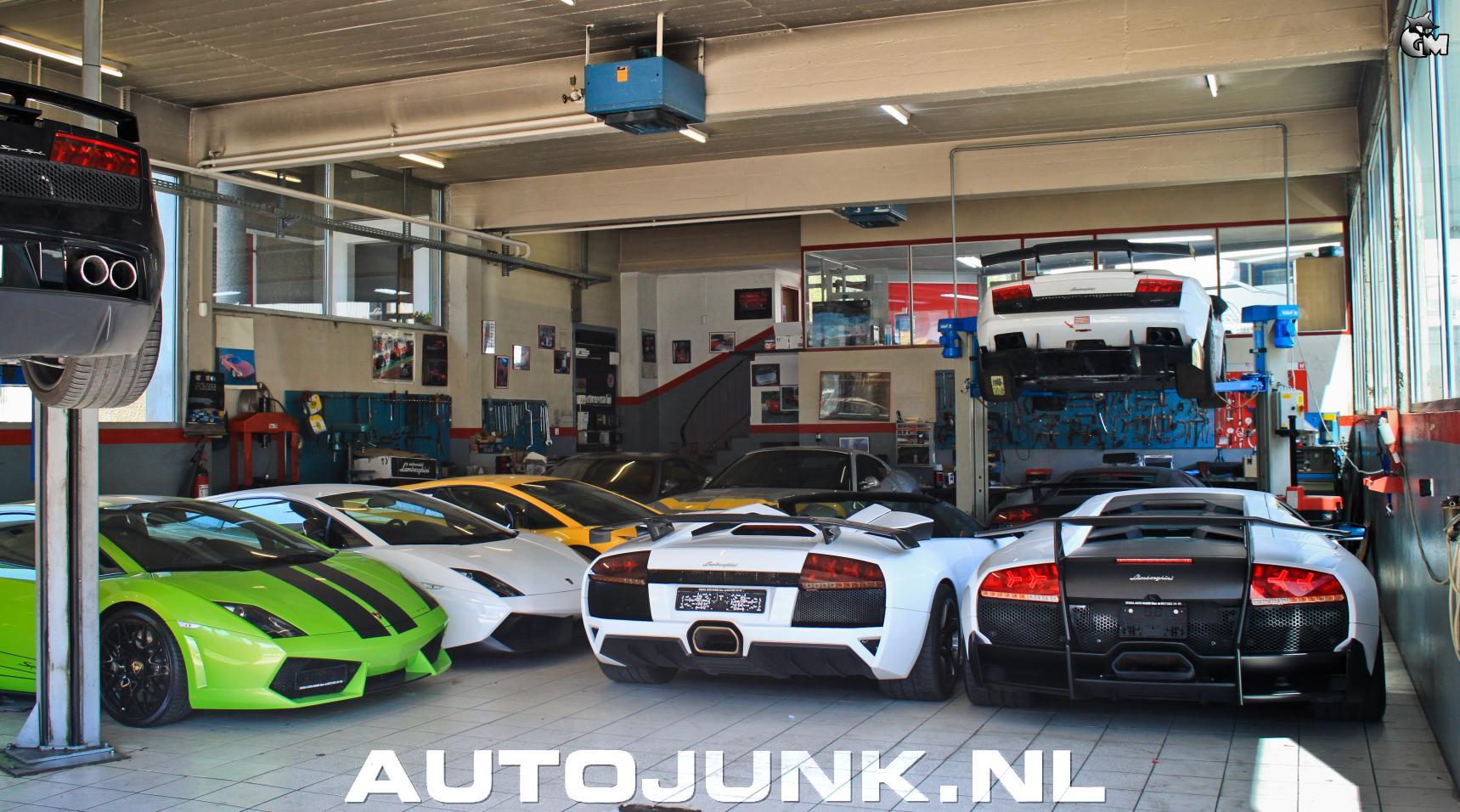 Lamborghini Garage In Zwitserland Foto S 187 Autojunk Nl 102766