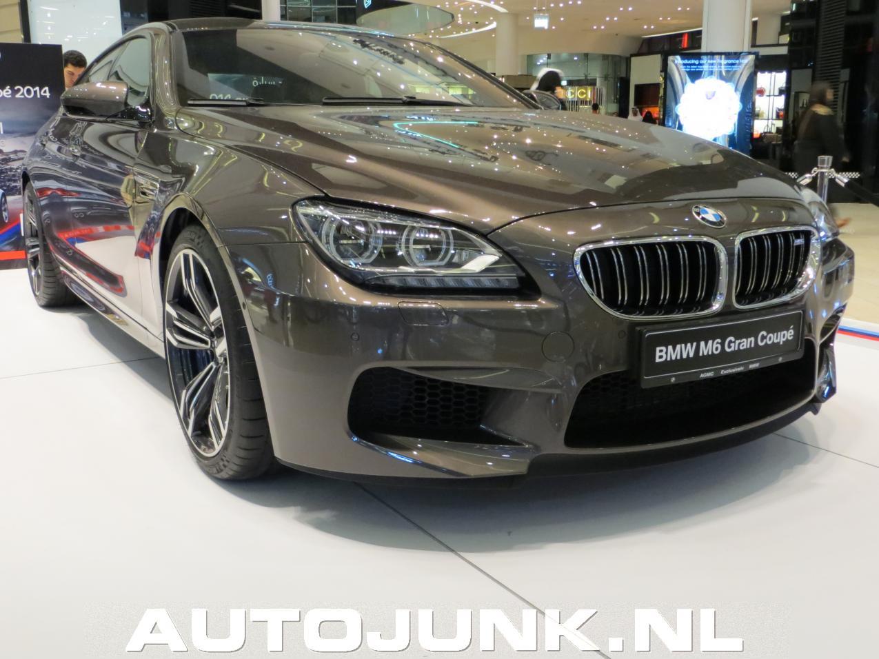 Foto: BMW M6 Gran Coupe Dubai 2013