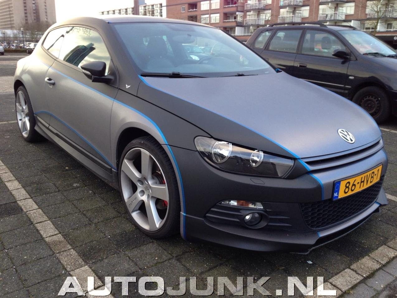 Volkswagen Scirocco 100 Tuning By Wrapaholic Fotos