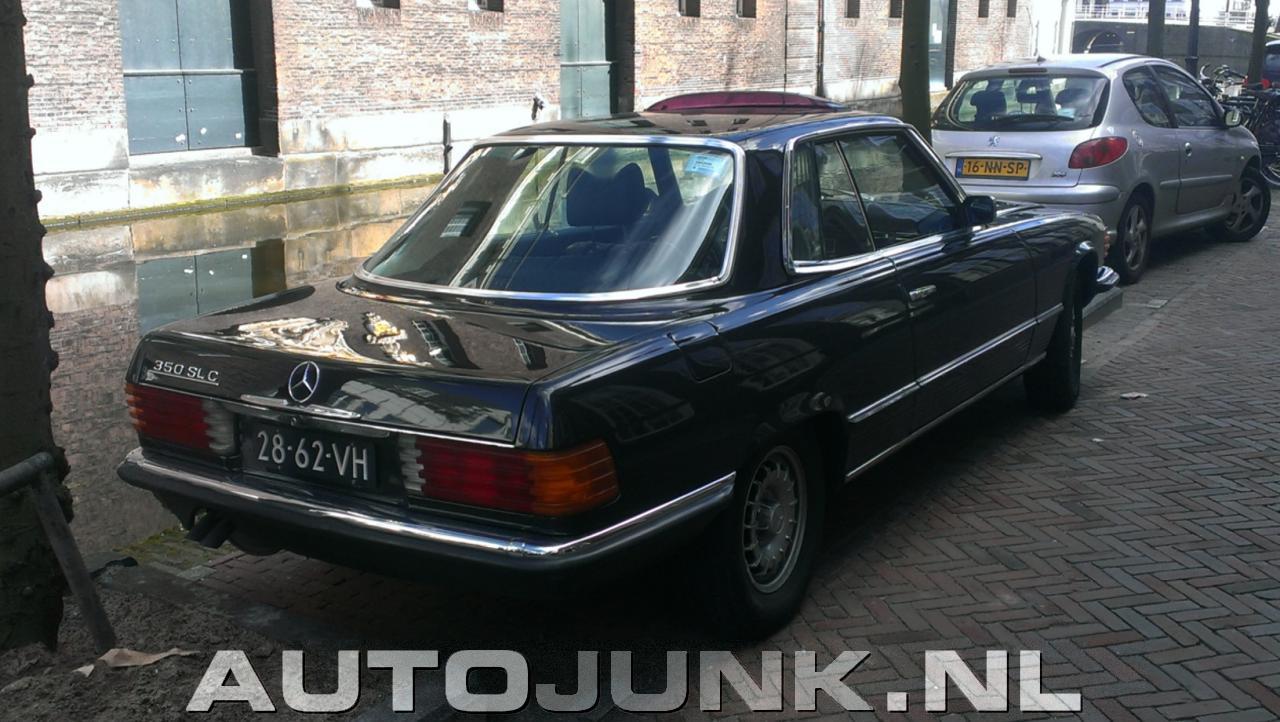 Mercedes benz 350 slc foto 39 s 113889 for Mercedes benz 350 slc