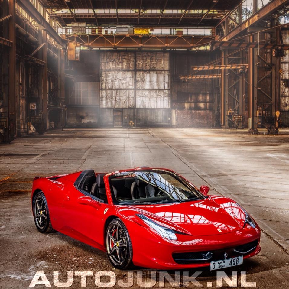 Ferrari 458 Spider By Brians Custom Audio Foto's
